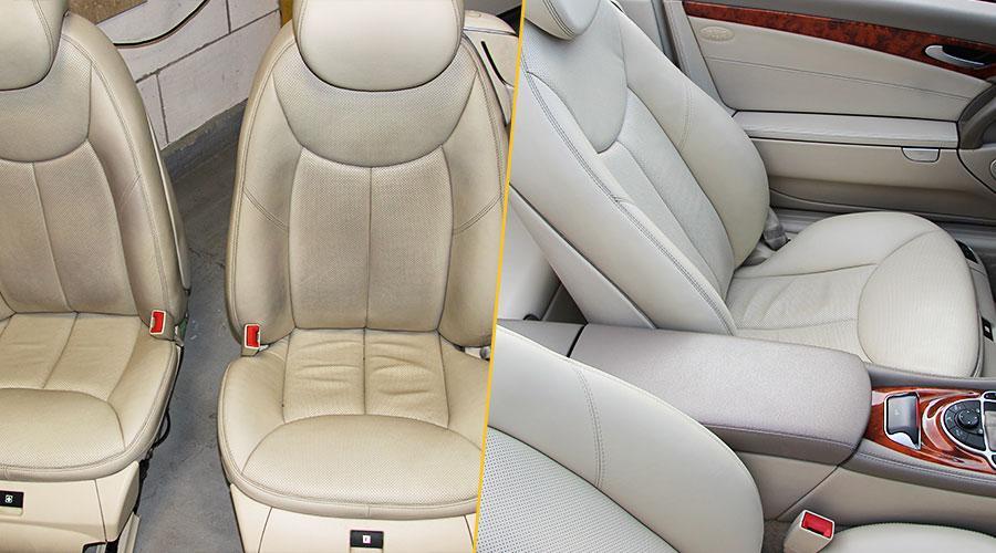 Химчистка обивки сидений Mercedes-Benz SL 500