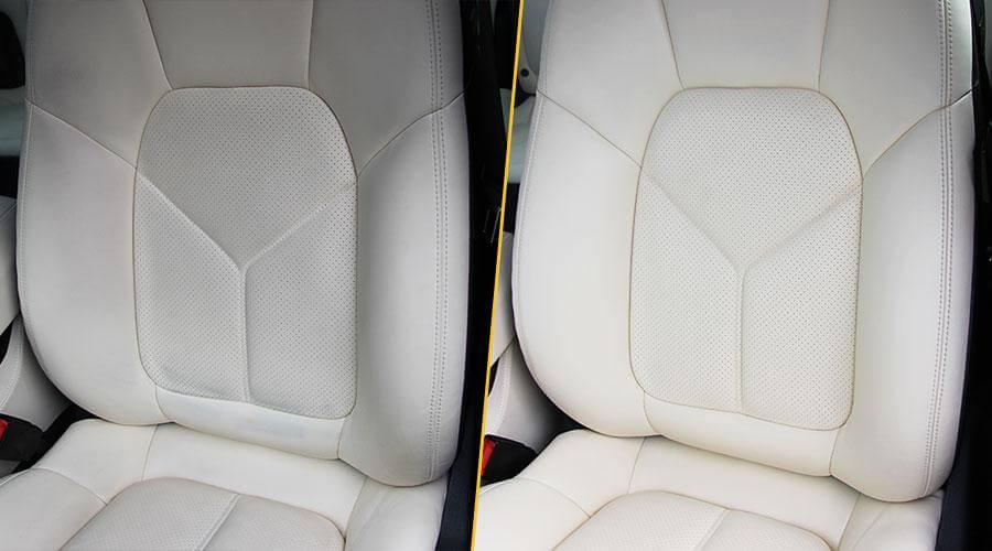 Химчистка передних сидений Porsche Cayenne