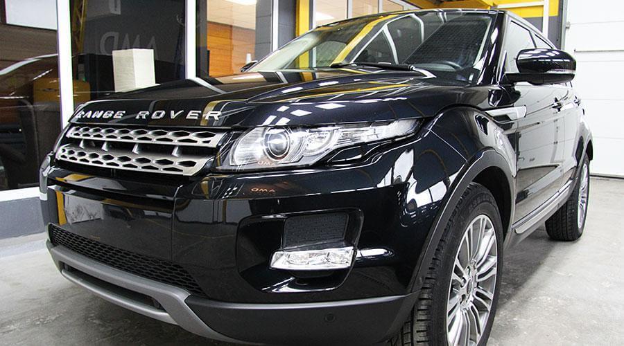 Нанесение покрытия  Range Rover Evoque