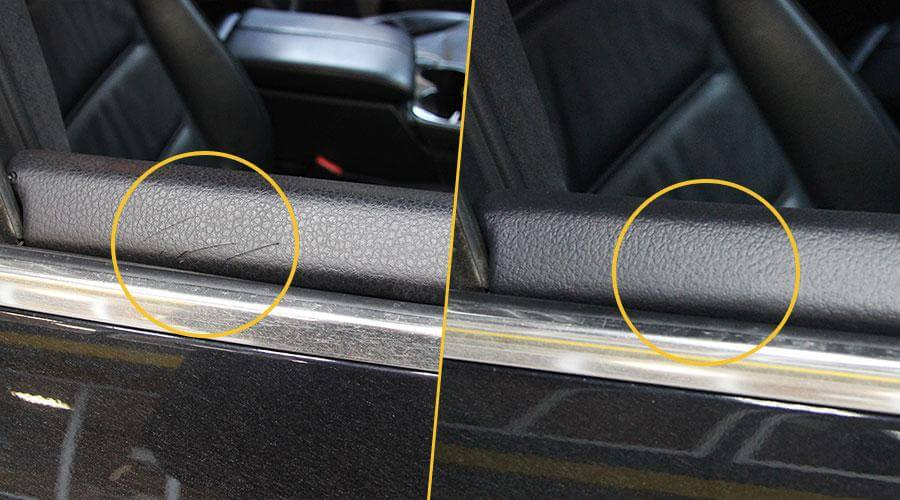 Ремонт пластиковой обшивки Volkswagen Touareg