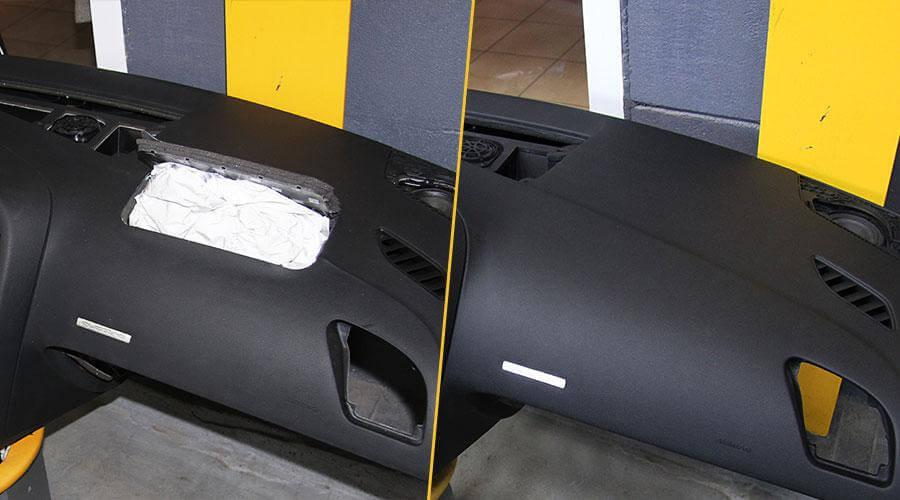 Восстановление панели приборов под повторное срабатывание Audi