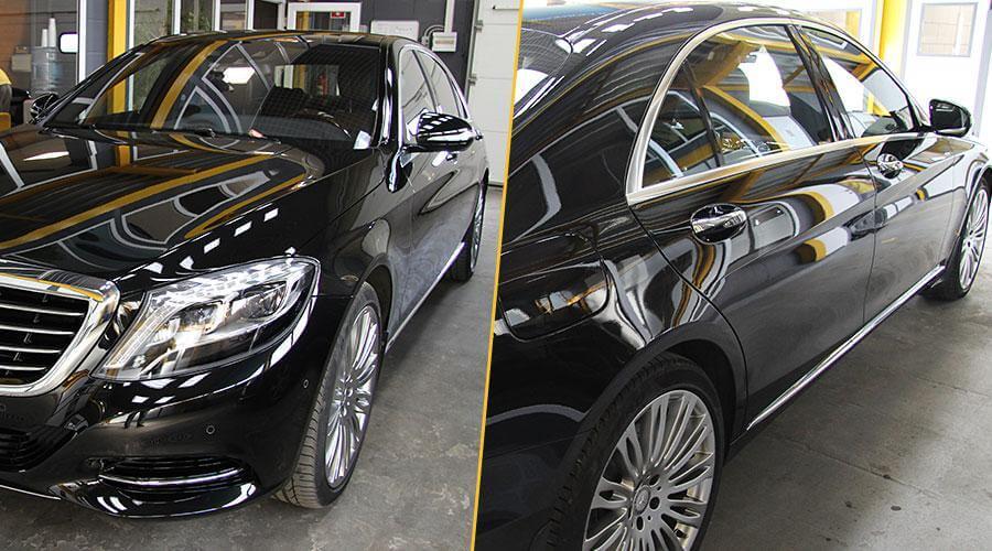 Покрытие Optimum Gloss Coat Mercedes-Benz S500