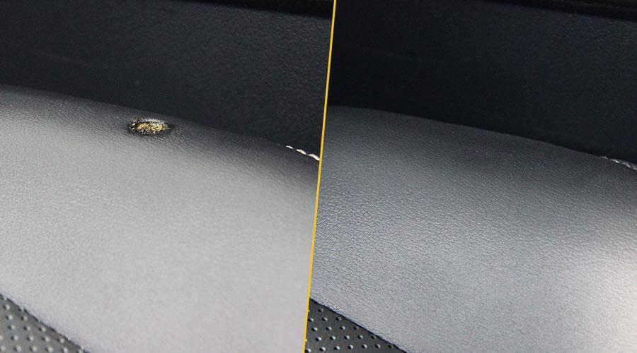 Удаление прожога на кожаном сиденье Lexus RX-200