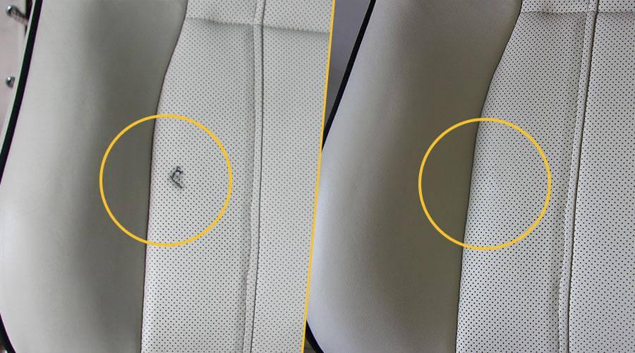 Ремонт сиденья Range Rover