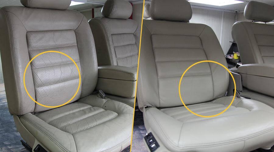 Реставрация сидений Cadillac Eldorado 1973
