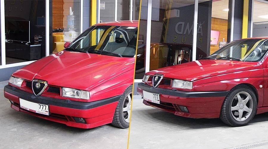 Полировка кузова Alfa-Romeo 155 Q4