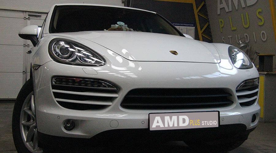 Восстановительная полирока Porsche Cayenne