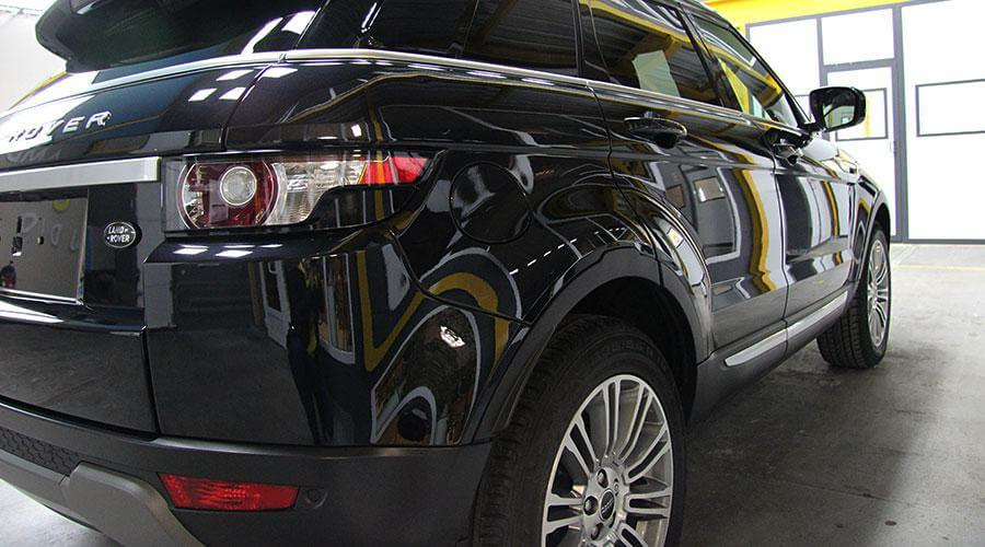 Восстановительная полировка Range Rover Evoque