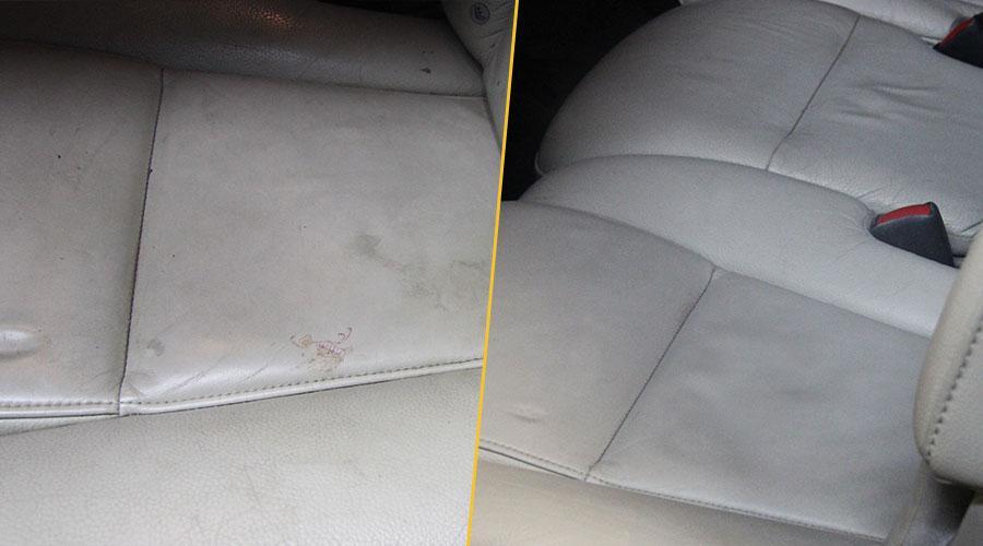 Химчистка сиденья Volvo XC90
