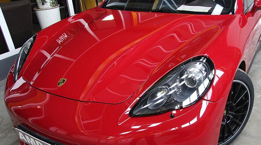 Восстановительная полировка Porsche Panamera