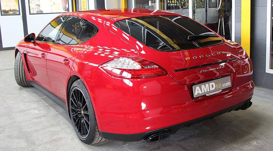 Защитное покрытие Optimum Gloss Coat Porsche Panamera
