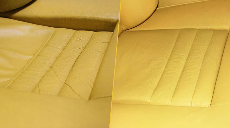 Восстановление наполнителя передних сидений Lamborghini LM-002