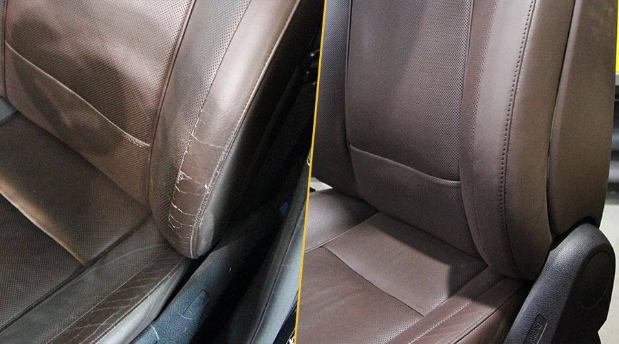 Реставрация салона BMW 750i