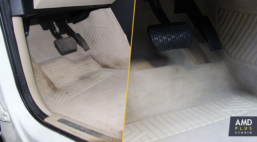 Химчистка пола Mercedes-Benz A-200
