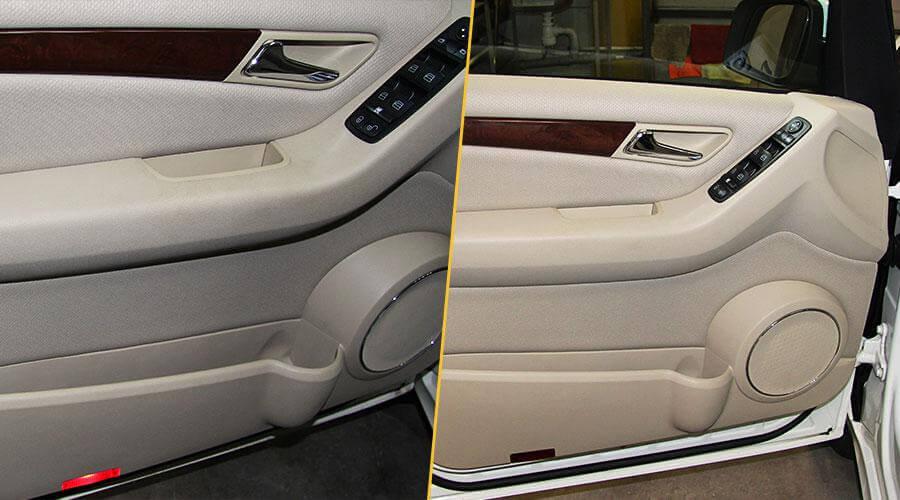 Химчистка салона с демонтажем сидений Mercedes-Benz A-200