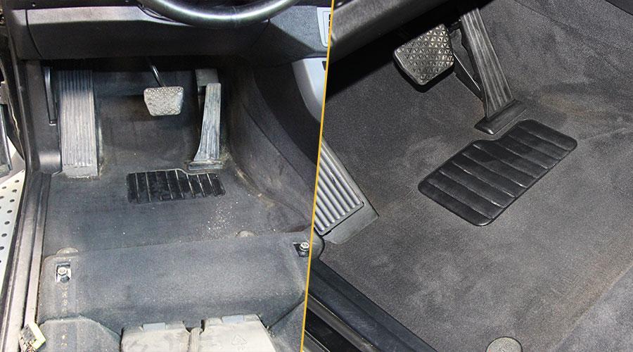 Химчистка пола BMW X5