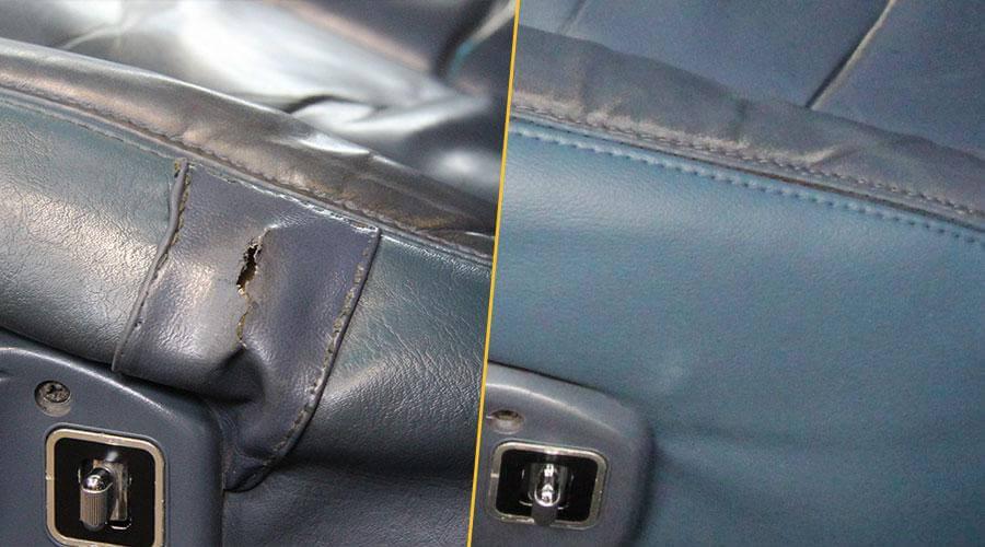 Замена наполнителя, замена элемента кресла Cadillac Brougham