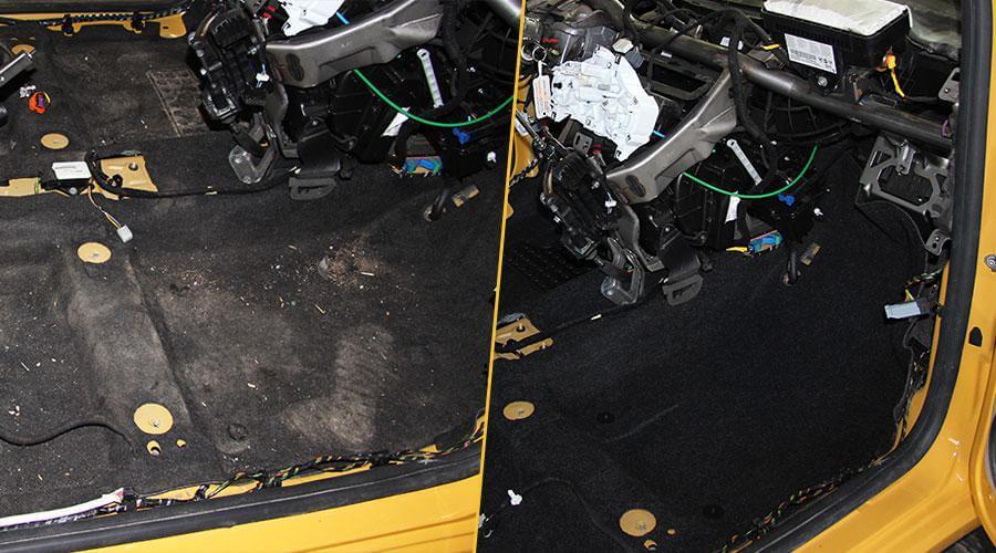 Химчистка салона автомобиля Fiat-500