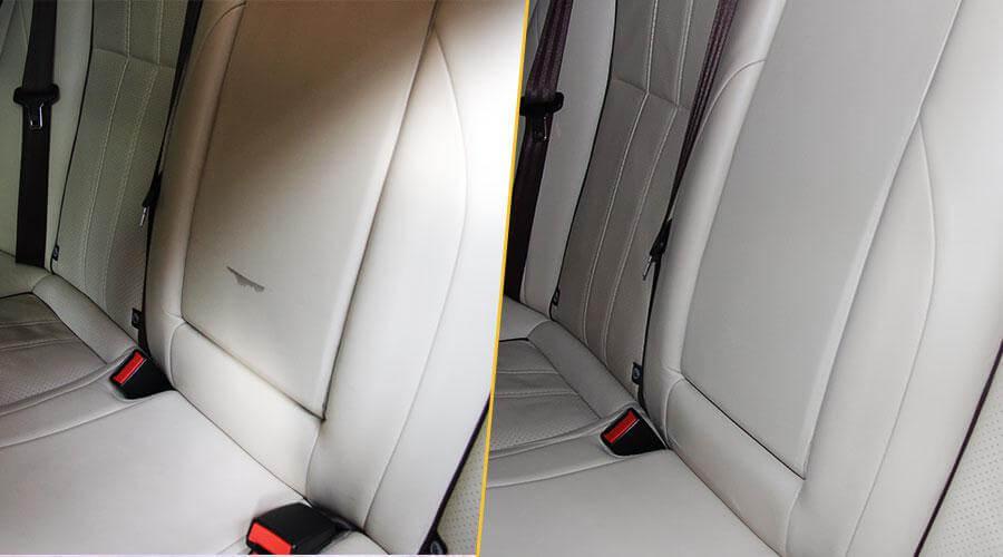 Реставрация салона авто Jaguar XJ