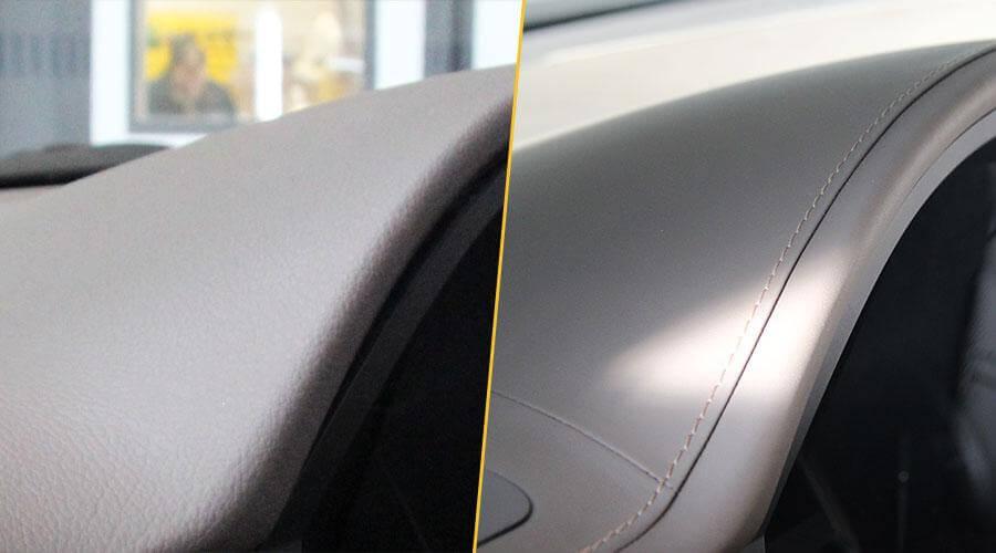 Перетяжка в кожу фальшпанелей переднего и пассажирского кресел Lexus GX460